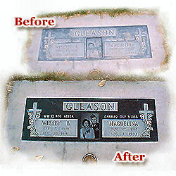 Guide To Cleaning Headstones.