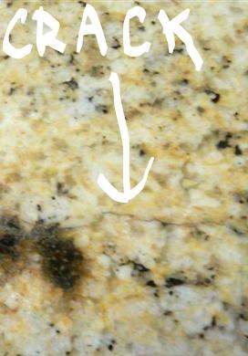 Repair Crack in Stone