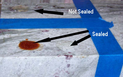 Granite Countertop Sealer and Color Enhancers