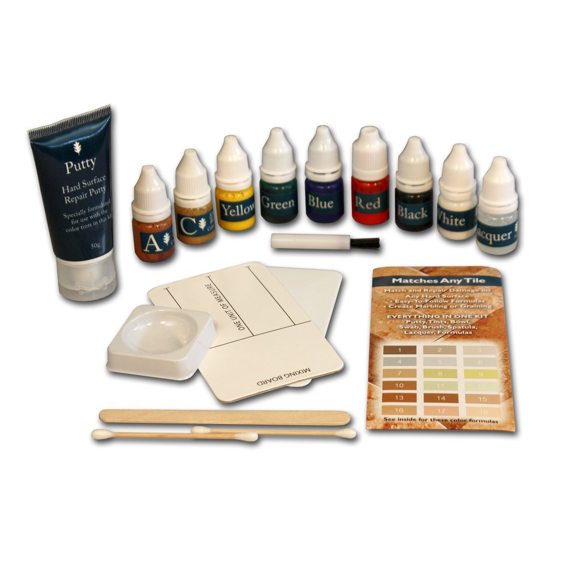 Stone, Marble and Granite Repair Kit