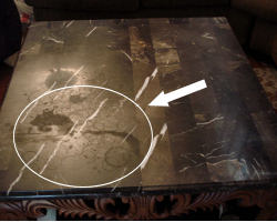 Etonnant How To Clean Marble. Removing Stains From Marble Table Top