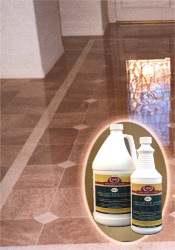 Marble floor 