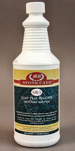 Soap Film and  Mineral Deposit Remover
