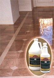 Marble floor  cleaner.