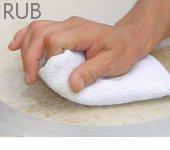 Step 4: Rub.
